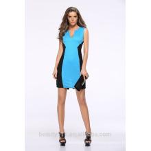El vestido de la manera de las señoras de la correa sin mangas de la longitud de la rodilla del vestido de la mujer 2017 diseña SD16