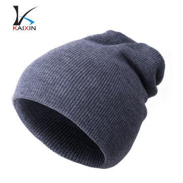 Chapeau de bonnet réversible personnalisé en gros