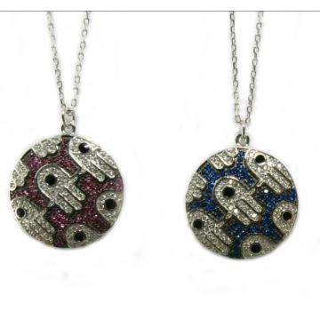 Projeto novo para a colar 925 da mulher Jóias de prata da forma N6807