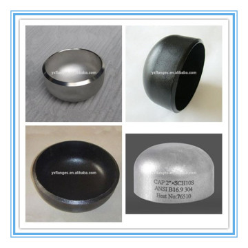 A234 wpb stainless steel domed end cap