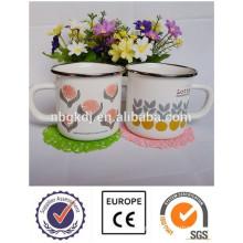 Chinese enamel mugs & tea or coffee cups