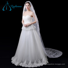 Tulle Lace Appliques Long Cathedral Wedding Veil