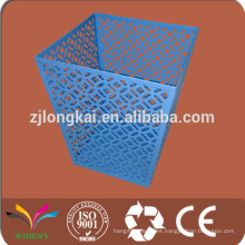 Malla de alambre de metal de publicidad del hogar reciclar basura para la basura