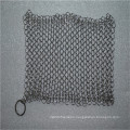 China Cheap 304 stainless steel chainmail scrubber