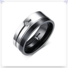 Moda jóias de aço inoxidável jóias dedo anelar (SR779)