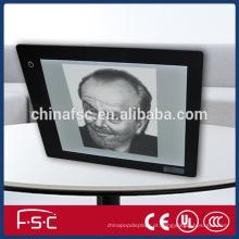 Acylic LED luz rastreamento cópia placa para desenho com alta qualidade