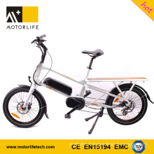 MOTORLIFE/OEM EN15194 HOT SALE 48v 500w 20inch cargo bikes for sale