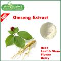 Faibles résidus de pesticides Extrait de ginseng en poudre