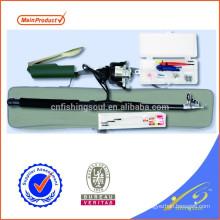 FDSF469 weihai equipamento de pesca barato combo vara de pesca conjunto