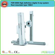 FDR 650S High definition digital X-ray system floor mountain type 150kV