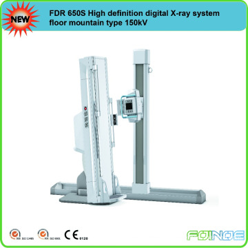 FDR 650S High definition digital X-ray system floor mountain type 150kV