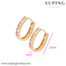 (90065)Xuping Fashion High Quality 18K Gold Plated Earring