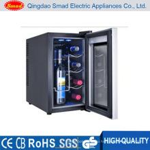 8 бутылок рабочего термоэлектрический охладитель вина