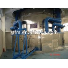 Linha de produção de águas residuais