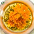 Marigold Flying Green Blooming Tea Té floral floreciente