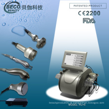 Tripolar RF + Vacuum RF + Supersonic + Cavitation Multifuncional Machine