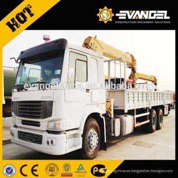 Famoso SQ12ZK1 camión montado grúa 12t 6 t para la venta