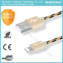 Nuevo cable de datos USB de carga rápida para teléfono móvil para iPhone