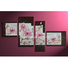 Plum Blossom Painting on Canvas for Wall
