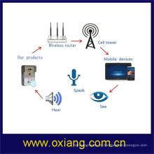 Segurança em casa WiFi video porteiro apoio 2 Way Talk