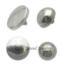 Bola en forma de ancla cutánea tapas OEM G23 titanio zambullidor de la piel