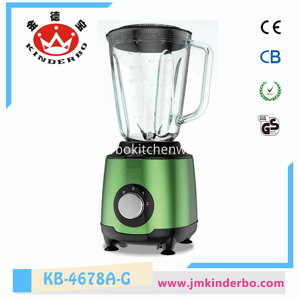450W Glass Jar Juicer and Food Blender