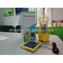 Fonte verde grande poder levou lanterna acampamento solar lanterna decorativa