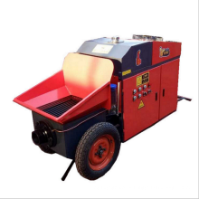 Bomba transportadora de mortero de cemento de hormigón para uso de vertido.