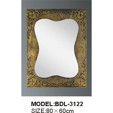 5mm Thickness Silver Glass Bathroom Mirror (BDL-3122)