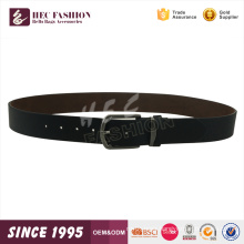 HEC Local Best Selling Leisure Style Casual Delicate Black Men'S Leather Belt