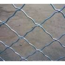 Chain Link Welded Wire Mesh Hot Dipped Galvanized Mobile Fence Panel in Construction Site, Building Site, Pool Safety (Factory)