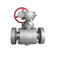 Forged Steel Trunnion Installation Ball Valve