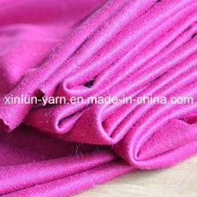 Tissu de daim de polyester de haute qualité pour le vêtement