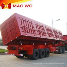 Trailer basculante lateral de 40 toneladas preço dourado