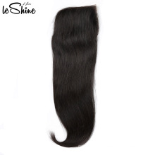 Hot Sale 10A Raw Indian Temple Virgin Braids Hair Raw Unprocessed Closure Frontal  Supplier