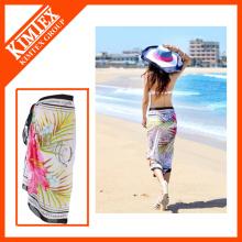 Alfândega Moda Impressão Beach Shawl Sarong