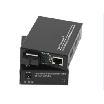 Ethernet Fiber Adapter To Copper Single Media Converter