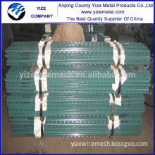 China Factory Provide galvanized T post power coated Farm Fence T Post(USA Type)