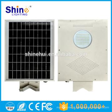 8W preço de fábrica IP65 integrado tudo em uma luz de rua solar do diodo emissor de luz