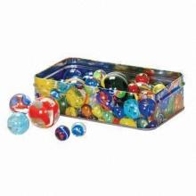 Mármoles de vidrio de 16mm con muchos colores