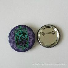 Badge en étain de fleurs, badge de conception spéciale (HY-MKT-0022)