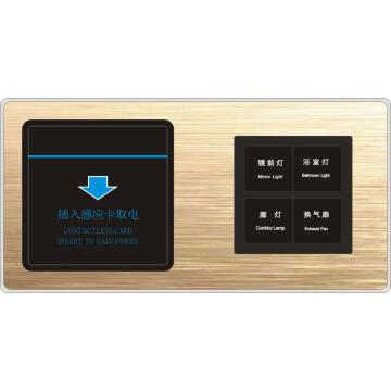 OEM Smart Hotel Switch Panel Tact für Hotelprojekte