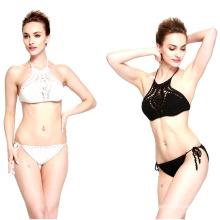 Hand häkeln Damen schwimmen tragen Badeanzug Kostüm Bademode Bikini Kleid