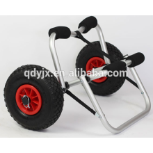 chariot de kayak avec béquille en u et pare-chocs mousse souple YJX02005