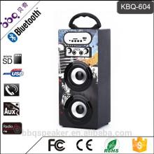 BBQ KBQ-604 1200mAh bester Bluetooth-tragbarer multimeadia Karaokesprecher mit FM Radio
