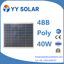 40W/50W/80W High Efficiency Solar Module for LED Lighting