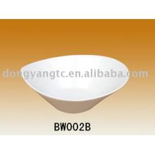 Fábrica directa al por mayor 7.5 | Cuenco de porcelana blanca de 11 pulgadas
