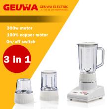 Geuwa Processador de alimentos para uso doméstico 3 em 1
