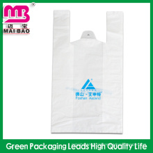 Fabrik Großhandel schwere Gewohnheit gedruckt Guanghzou Kunststoffrolle Taschen Logo T-Shirt