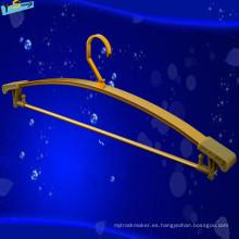 Popular Fine Hung Hanger Pequeña percha para mujer en Golden